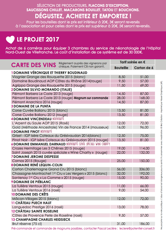 Flyer WCE Lyon 2017 Verso