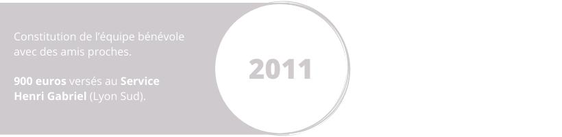 équipe bénévole projet 2011 Henri Gabriel Wine Charity Event Lyon vins dons