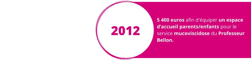 Projet 2012 Wine Charity Event Lyon vins dons espace d'accueil enfants/parents service mucoviscidose professeur bellon