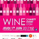 Wine charity event lyon 2017