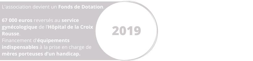 Projet 2019 Wine Charity Event Lyon dons vins service gynécologique de l'Hôpital de la Croix-Rousse Fonds de Dotation
