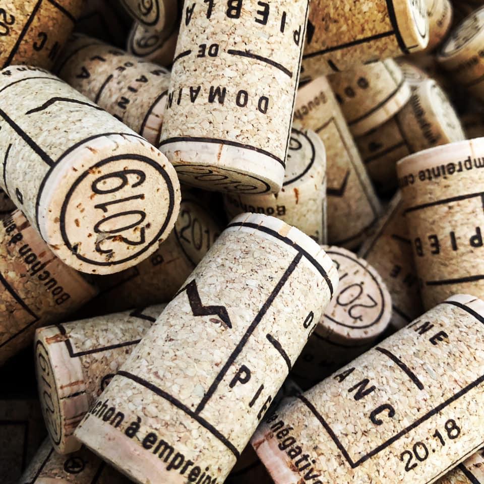 Domaine de piéblanc bouchons vin Matthieu Ponson