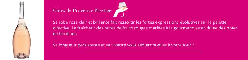 Château Sainte Roseline Lyon Vins Tradition Côtes de Provence Prestige