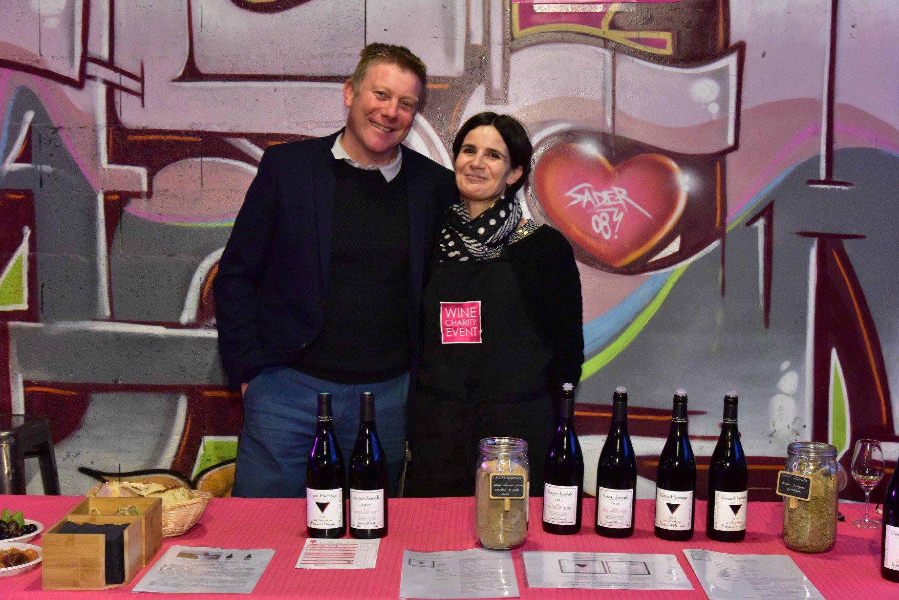 Emmanuel et Christine Darnaud Wine Charity Event