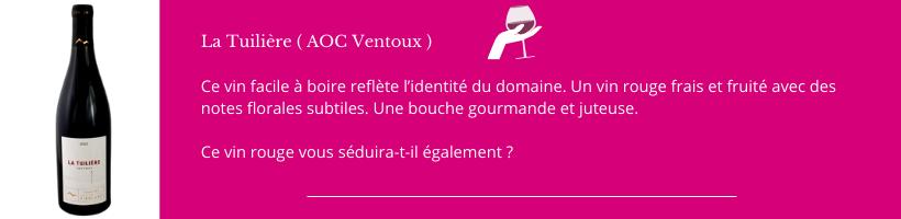 La Tuilière AOC Ventux Domaine de Piéblanc