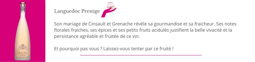 Château Puech Haut Lyon Vins Tradition Languedoc Prestige