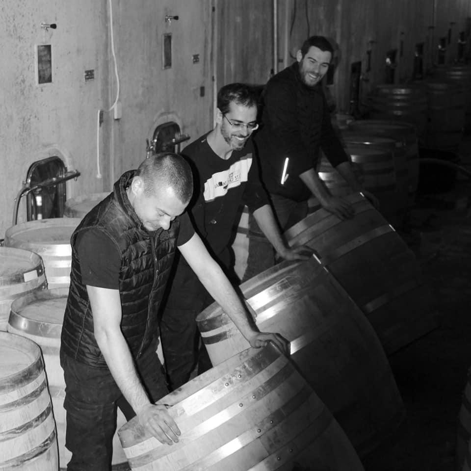 Château Puech Haut Lyon Vins Tradition tonneaux cuves retournés